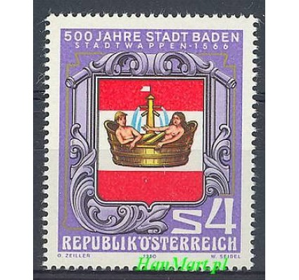 Znaczek Austria 1980 Mi 1631 Czyste **