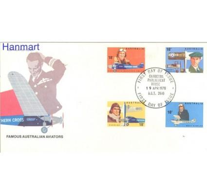 Znaczek Australia 1978 Mi 644-647 FDC