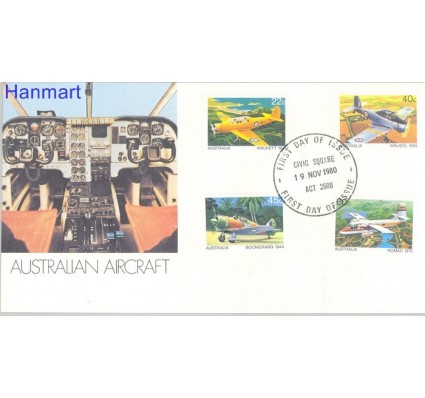 Znaczek Australia 1980 Mi 736-739 FDC