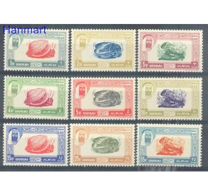 Znaczek Dubaj 1963 Mi 1-9 Czyste **