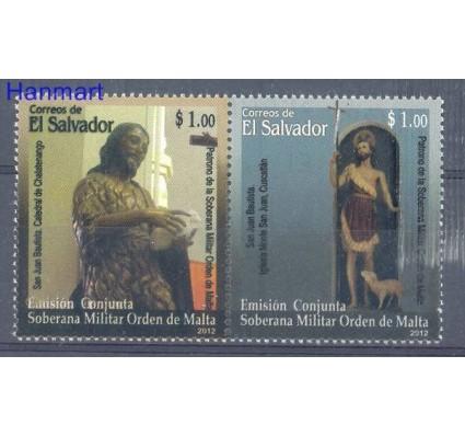 Znaczek Salwador 2012 Mi 2619-2620 Czyste **