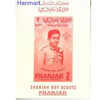 Sharjah 1964 Mi bl 9 Czyste **