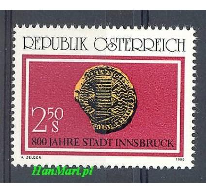 Znaczek Austria 1980 Mi 1647 Czyste **