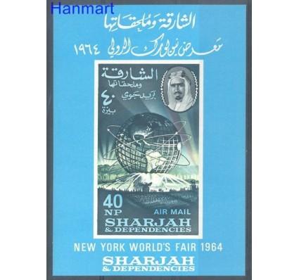 Sharjah 1964 Mi bl 8 Czyste **