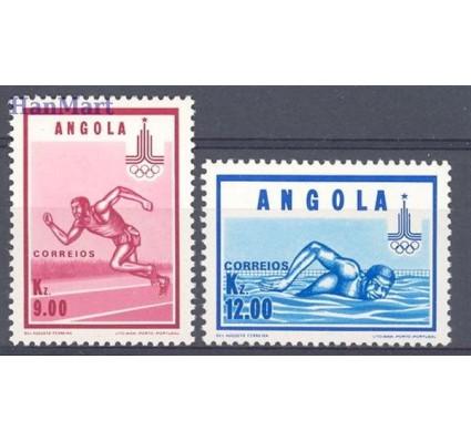 Znaczek Angola 1980 Mi 633-634 Czyste **