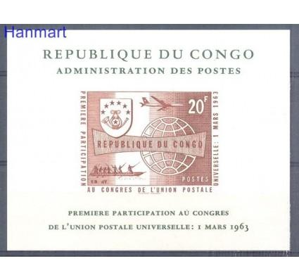 Znaczek Kongo Kinszasa / Zair 1963 Czyste **