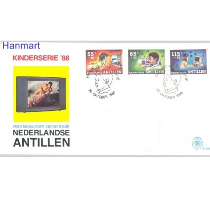 Znaczek Antyle Holenderskie 1988 Mi 646-648 FDC