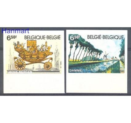 Znaczek Belgia 1980 Mi 2027-2028B Czyste **