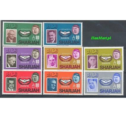 Znaczek Sharjah 1966 Mi 213-220 Czyste **
