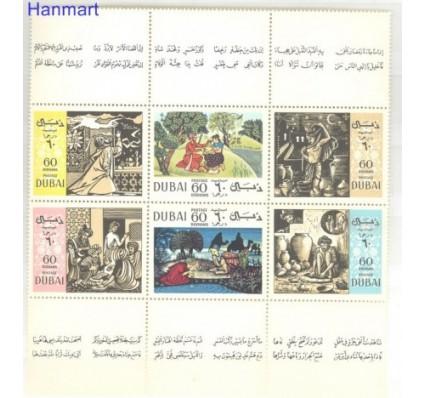 Znaczek Dubaj 1967 Mi 266-271 Czyste **