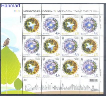 Znaczek Ukraina 2011 Mi ark 1204-1205 Czyste **