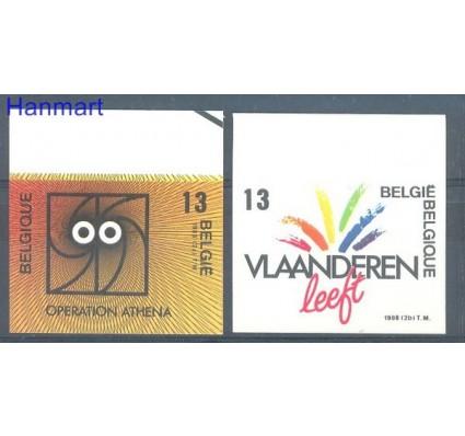 Znaczek Belgia 1988 Mi 2329-2330B Czyste **