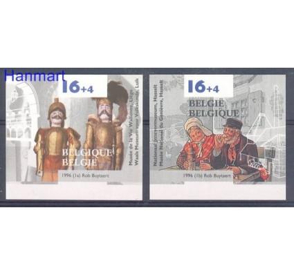 Znaczek Belgia 1996 Mi 2676-2677B Czyste **