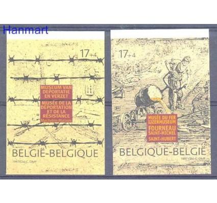 Znaczek Belgia 1997 Mi 2734-2735B Czyste **