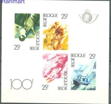 Znaczek Belgia 1982 Mi bl 52B Czyste **