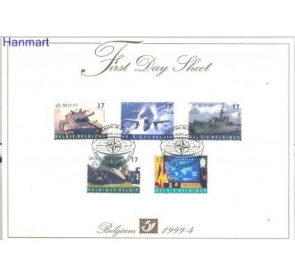 Znaczek Belgia 1999 Mi 2861-2865 FDC