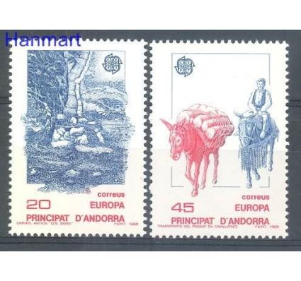 Znaczek Andora Hiszpańska 1988 Mi 200-201 Czyste **