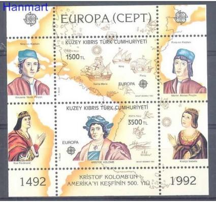 Znaczek Cypr Północny 1992 Mi bl 10 Czyste **