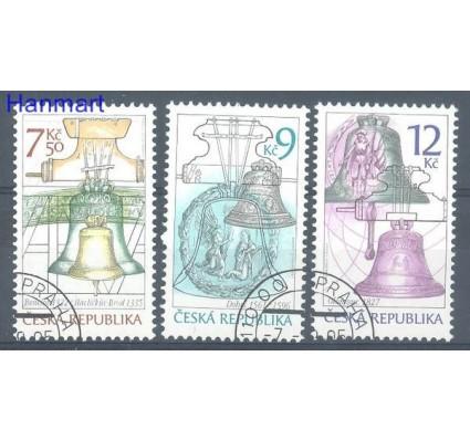 Znaczek Czechy 2005 Mi 443-445 Stemplowane