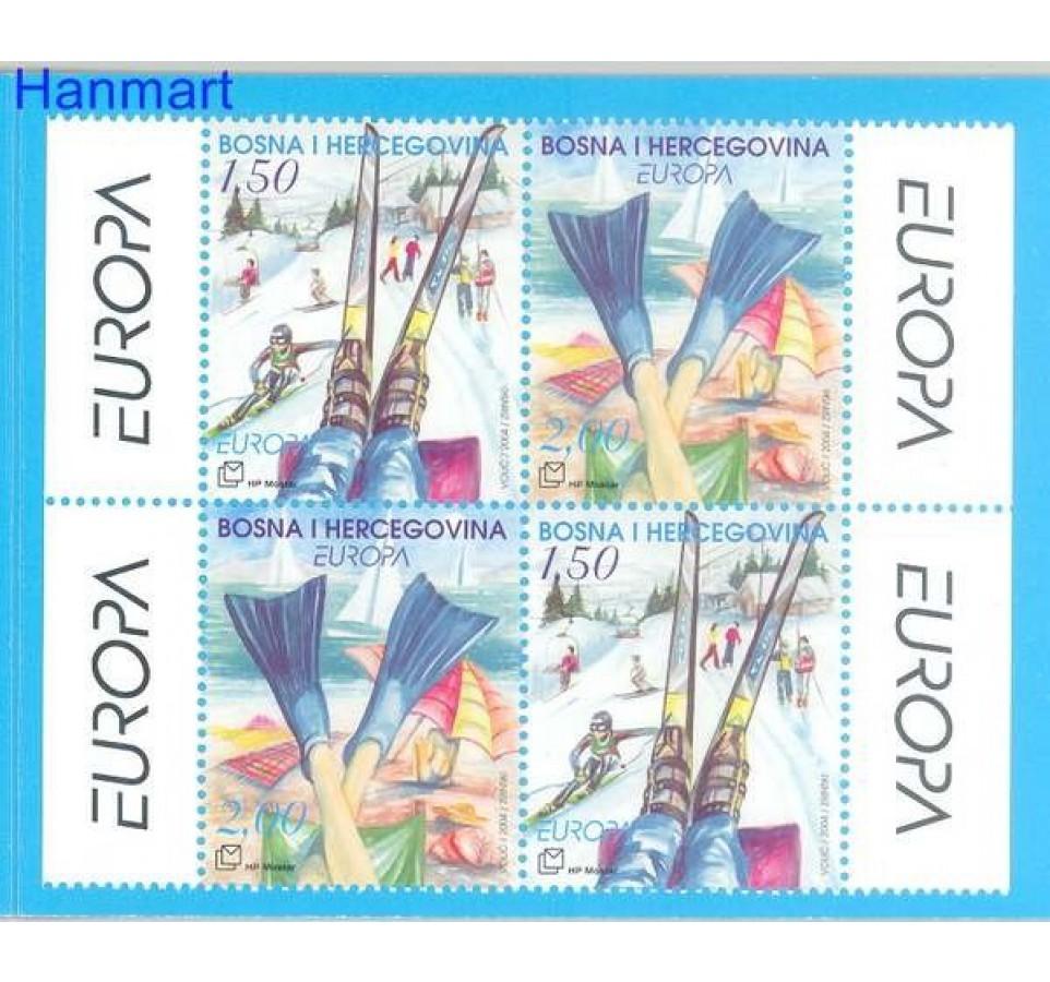 Mostar 2004 Mi mh 129-130 Czyste **