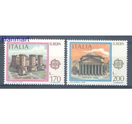 Znaczek Włochy 1978 Mi 1607-1608 Czyste **