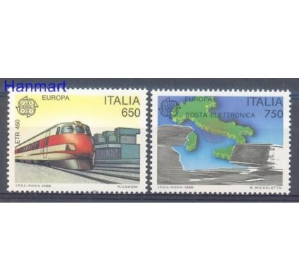 Znaczek Włochy 1988 Mi 2043-2044 Czyste **