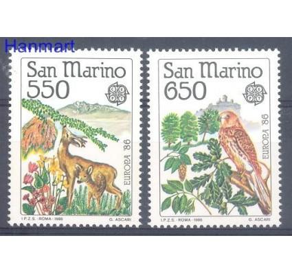 Znaczek San Marino 1986 Mi 1339-1340 Czyste **