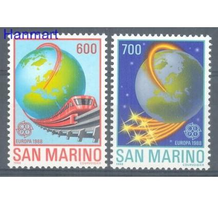 Znaczek San Marino 1988 Mi 1380-1381 Czyste **