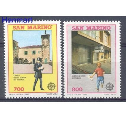 Znaczek San Marino 1990 Mi 1432-1433 Czyste **