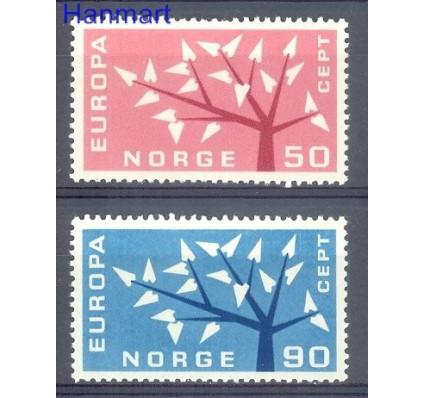 Znaczek Norwegia 1962 Mi 476-477 Czyste **