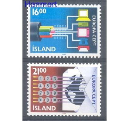 Znaczek Islandia 1988 Mi 682-683 Czyste **