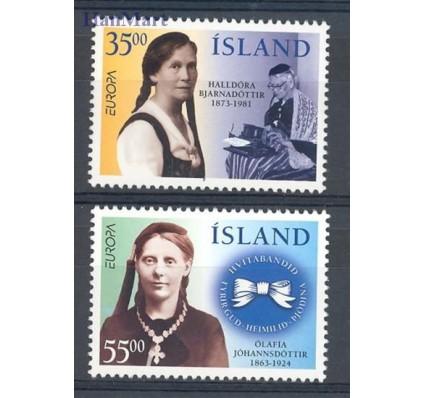 Znaczek Islandia 1996 Mi 844-845 Czyste **