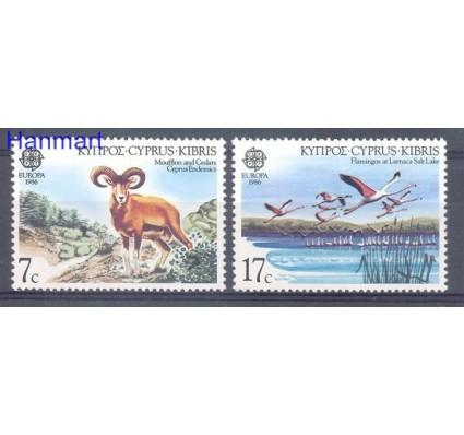 Znaczek Cypr  1986 Mi 655-656 Czyste **
