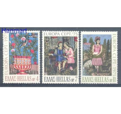 Znaczek Grecja 1975 Mi 1198-1200 Czyste **