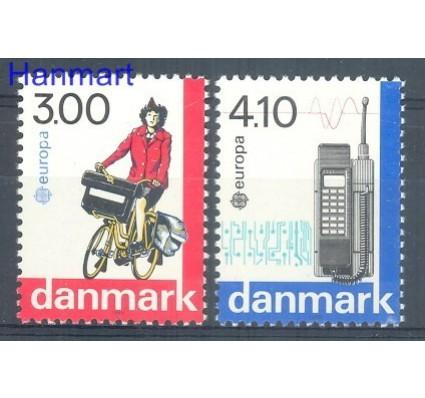 Znaczek Dania 1988 Mi 921-922 Czyste **
