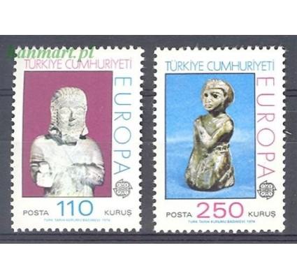 Znaczek Turcja 1974 Mi 2320-2321 Czyste **