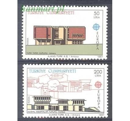 Znaczek Turcja 1987 Mi 2777-2778 Czyste **