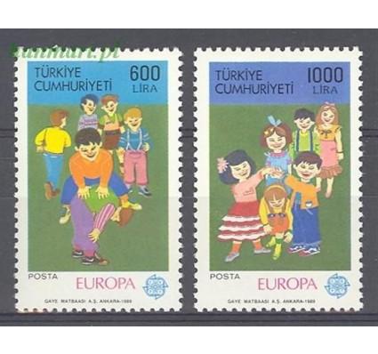 Turcja 1989 Mi 2854-2855 Czyste **