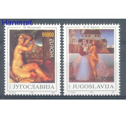 Znaczek Jugosławia 1993 Mi 2603-2604 Czyste **