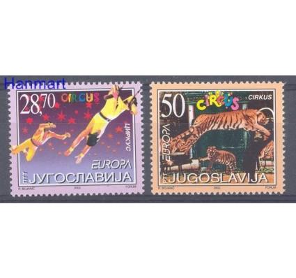 Znaczek Jugosławia 2002 Mi 3076-3077 Czyste **