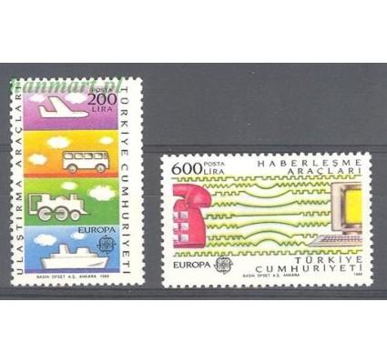 Znaczek Turcja 1988 Mi 2808-2809 Czyste **
