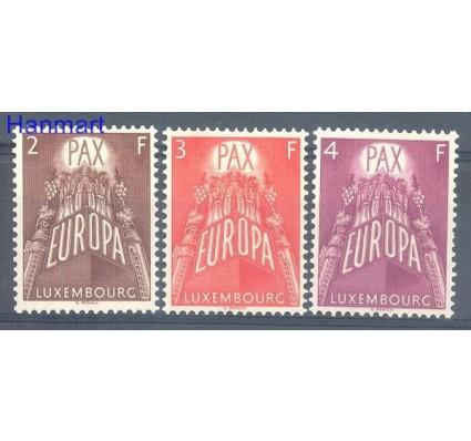 Znaczek Luksemburg 1957 Mi 572-574 Czyste **