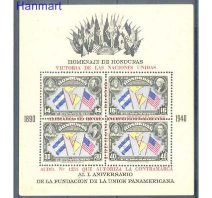 Znaczek Honduras 1945 Mi bl 2 Czyste **