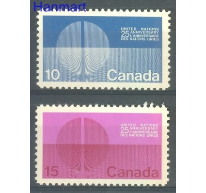 Znaczek Kanada 1970 Mi 456-457x Czyste **