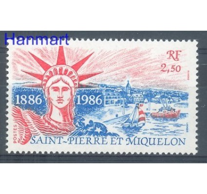 Znaczek Saint-Pierre i Miquelon 1986 Mi 539 Czyste **