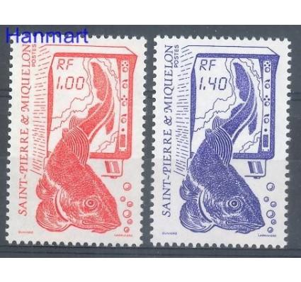 Znaczek Saint-Pierre i Miquelon 1986 Mi 540-541 Czyste **