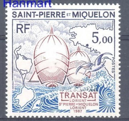 Saint-Pierre i Miquelon 1987 Mi 545 Czyste **