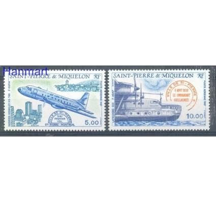 Znaczek Saint-Pierre i Miquelon 1987 Mi 548-549 Czyste **
