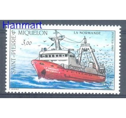 Saint-Pierre i Miquelon 1987 Mi 552 Czyste **