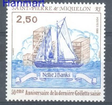 Saint-Pierre i Miquelon 1988 Mi 564 Czyste **
